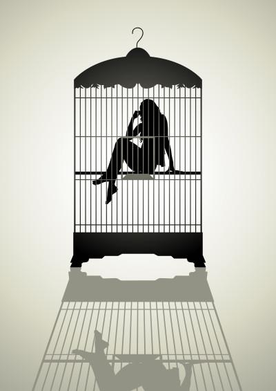 Macht macht aus Liebe einen Käfig